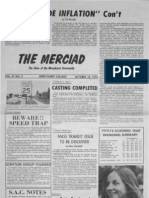 The Merciad, Oct. 18, 1974