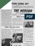 The Merciad, Feb. 28, 1975