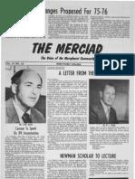 The Merciad, May 2, 1975
