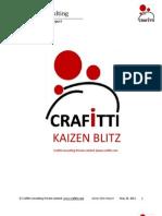 Kaizen Blitz Project Report