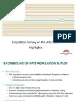Population Survey of the Arts 2009