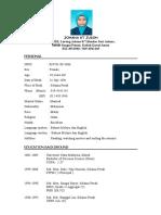 Resume of Johana
