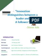 Steve Job Ppt