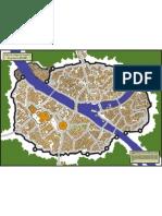 Map City Altdorf - Vector