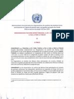 Mémorandum d'accord (MoU) entre les Organisations du système des Nations Unies participantes et l'Agent de gestion pour une gestion groupée des fonds  ( ONUSIDA - 2011)