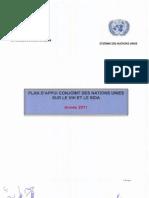 Plan d'appui conjoint 2011 des Nations Unies sur le VIH et le Sida à Madagascar