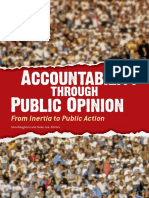 Accountability through Public Opinion