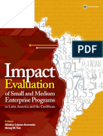 Impact Evaluation of Small and Medium Enterprise Programs in Latin America and the Caribbean