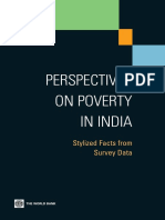Perspectives on Poverty in India