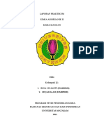 PERCOBAAN II