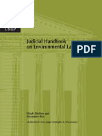 Judicial Handbook in Environmental Law