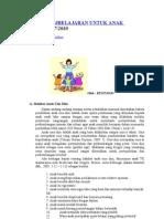 Strategi Pembelajaran Untuk Anak Usia