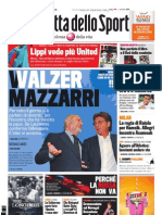 Gazzetta dello Sport - 24 Maggio 2011