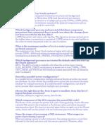 DBA Questions 100