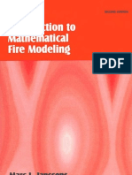 An Introduction to Mathematical Fire Modeling