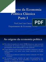 As Origens Da Economia Poledtica Cle1ssica