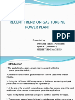 Recent Trend on Gas Turbine