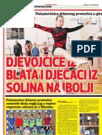 Školski sport 27.4.2011.