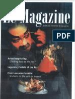 Magazine EHL - Chinese Cooking