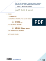 UNIDAD  9. GESTIÓN DE TESORERÍA