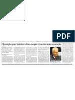 Oposição quer Palocci fora durante apuração