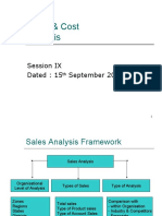Session 9 - Sales Analysis