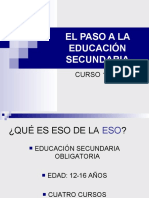 Transición entre etapas documento apoyo tutor