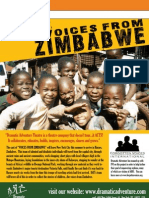"""Voices from Zimbabwe"" Brochure"
