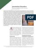 Common Pigmentation Disorders