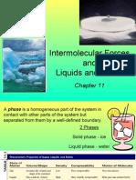 AP Ch 11 Inter Molecular Forces