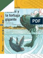 Nikomi y la tortuga gigante