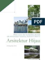 Ar4195 Seminar Arsitektur Buku Abstrak 2010 Final 13 Januari 2011