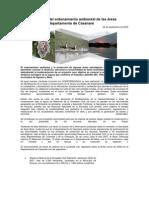 Implementación del ordenamiento ambiental de las áreas protegidas en el departamento de Casanare