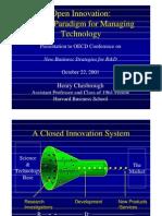 Open Innovation OCDE