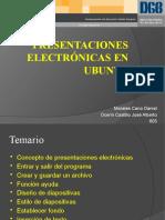 Presentaciones electrónicas en Ubuntu