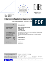 European Technical Approval ETA-03-0041 - Studs