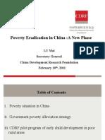 China Poverty 2011