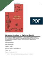 Cartas de Mi Molino Alphonse Daudet
