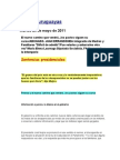 Noticias uruguayas 23 mayo 2011