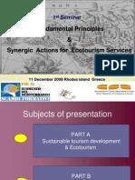 # 01-Fundamental Principles Synergic Eco Tourism
