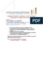 ICCT Summer Academy 2011