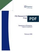 Fdi Research Final Report