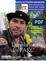 Courrier international n°898 (17 janv.2008) la jungle des FARC - Sarkozy, l'election permanente