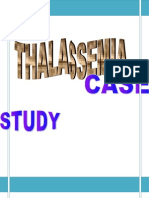 Thalassemia Overview