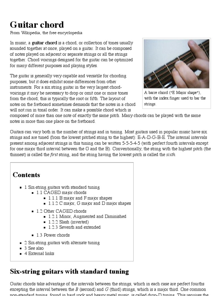 Guitar Chord Chord Music Guitars