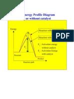 7 Energy Profile Diagram for Catalyst