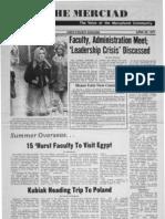 The Merciad, April 29, 1977