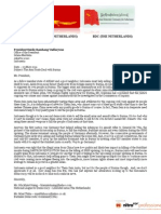 Letter to PRESIDENT Indonesia-Armtrade with Burma
