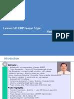 Lawson Project Management - Shrirang Nerurkar 2Q2011