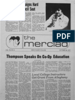 The Merciad, Oct. 28, 1977